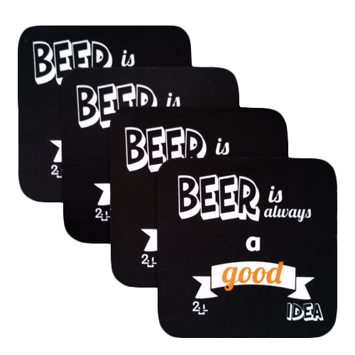 Porta-copo Beer is always a good idea