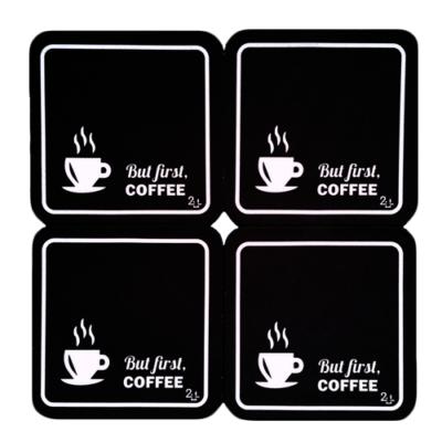 Porta-copo But first coffee