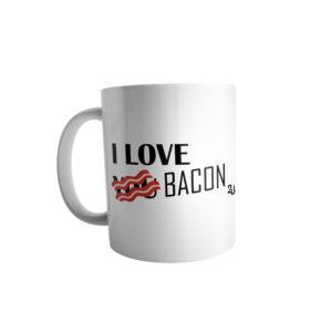 Caneca I Love Bacon